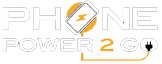 PhonePower2Go in San Antonion, Texas Logo